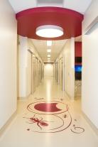 Intricate Floor Pattern - Violet