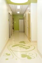 Intricate Floor Pattern - Green