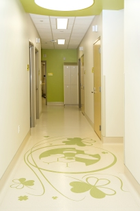 Intricate Floor Pattern - Green